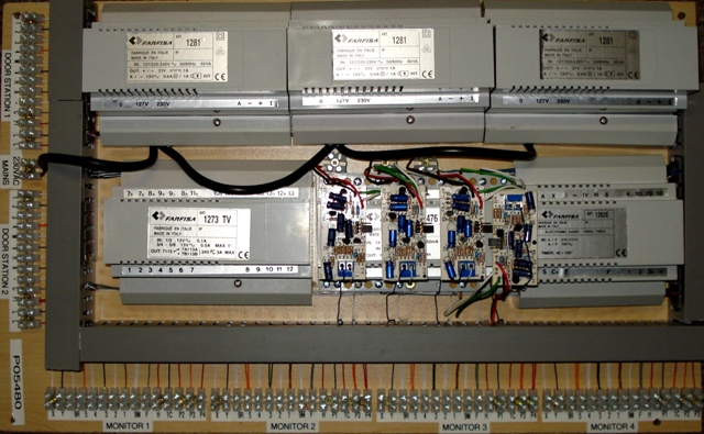 Farfisa Analogue Intercom systems Main Baord