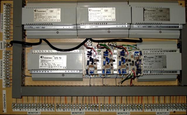 Farfisa Analogue Intercom systems Main Baord